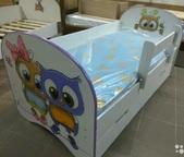 Кровать детская Совята с ящиком 700х1400