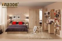 Спальний гарнитур Шерлок дуб сонома