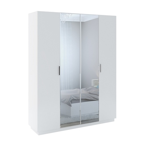 Шкаф 4-х створчатый с зеркалом М22 Тиффани