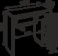 Стол малый М 36 Тиффани