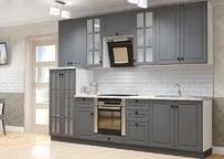 Кухня Верона графит софт