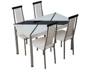 Стол обеденный со стеклом Маэстро 2