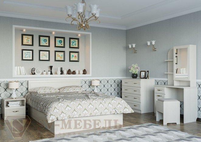 Спальный гарнитур Вега SV сосна 1